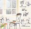 Cute-Cat-Vinyl-Home-Room-Decor-Art-Wall-Decal-Sticker-Bedroom-Removable-Mural thumbnail 1