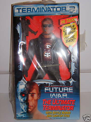 1991 THE ULTIMATE TERMINATOR 2 ACTION FIGURE