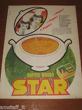 *=STAR DADO DOPPIO BRODO=1961=PUBBLICITA'=ADVERTISING=WERBUNG=PUBLICITE=