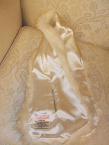 Bnwt Primark Bianco panna in finta pelliccia Collo Sciarpa Avvolgere COLLARE LOVELY qualità