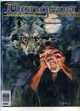 Dungeon Magazine #26 D&D AD&D RPG White Dwarf Dragon Issue  very good  MBX54
