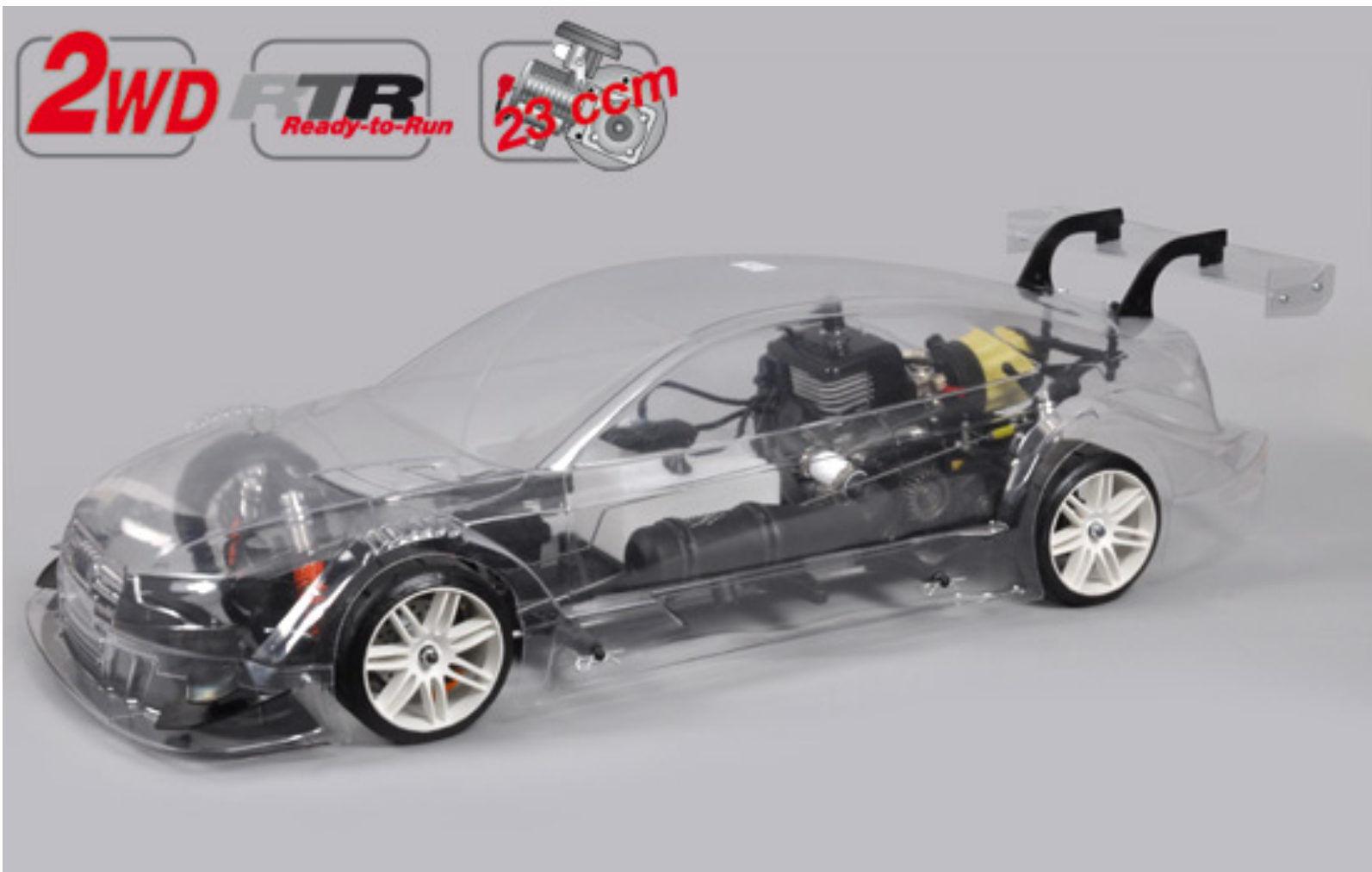 FG modellsport 164159r NUEVO Sportsline 2wd AUDI RS5 23 CCM sin lacar RTR