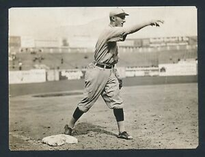 1910-HEINIE-ZIMMERMAN-Chicago-Cubs-Vintage-Baseball-Photo-CHARLES-CONLON