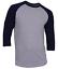 Raglan-Men-039-s-Casual-Baseball-T-Shirt-3-4-Sleeve-Plain-Jersey-Tee-S-2XL thumbnail 11