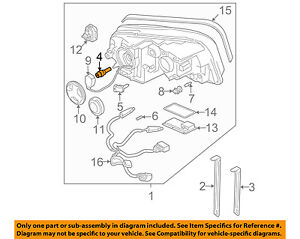 image is loading volvo-oem-03-10-xc90-headlight-headlamp-bulb-