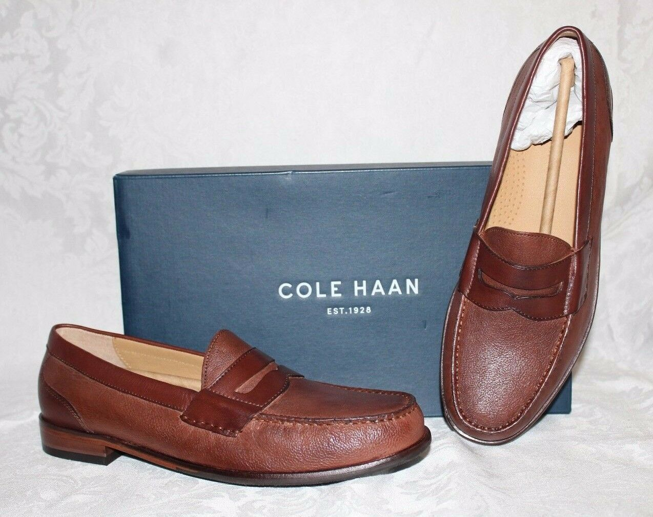 NEW COLE HAAN MENS FAIRMONT II PENNY LOAFERS sz 10-1 2 Medium