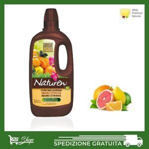 CONCIME liquido FERTILIZZANTE per agrumi piante orto limoni olive BIOLOGICO 1 LT