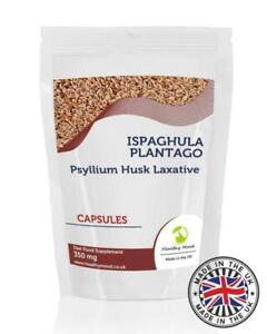 Ispaghula-Plantago-350mg-Psyllium-Husk-250-Capsules-Pills-Supplements