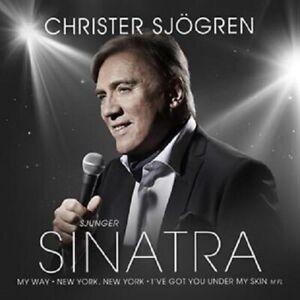"""Christer Sjogren - """"Sjunger Sinatra"""" - 2014 - CD Album"""