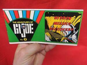 Vintage Gi Joe 1964 Joezeta: Livret de bandes dessinées sur la découverte de missiles cachés de 1970