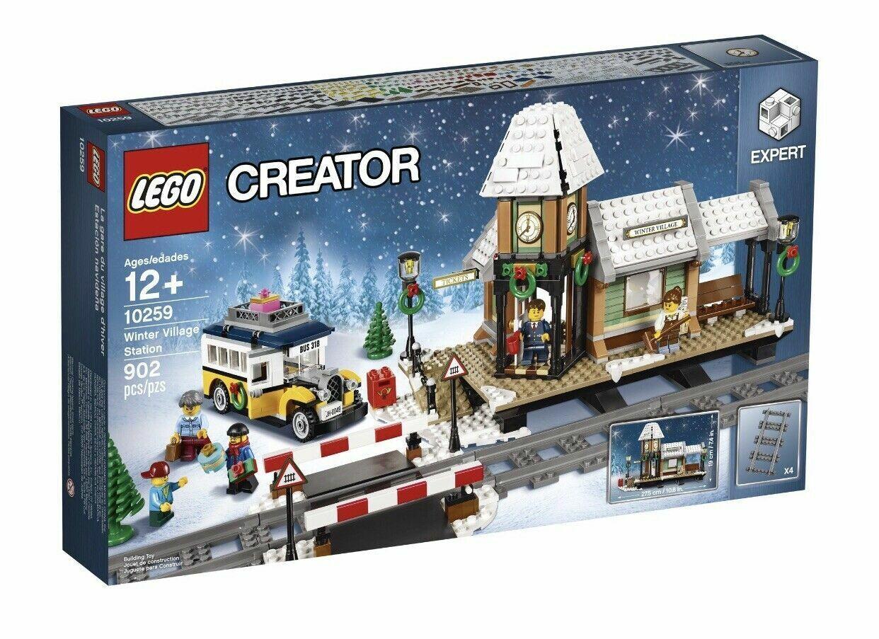 Nuevo LEGO 10259 estación Aldea De Invierno creator expert