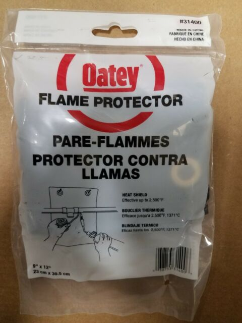 "Oatey 31400 Flame Protector 9/"" x 12/"""