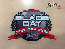 Exclusive Honda Fireblade Bladeday 2015 CBR1000RR Sticker Decal bladeday.co.uk