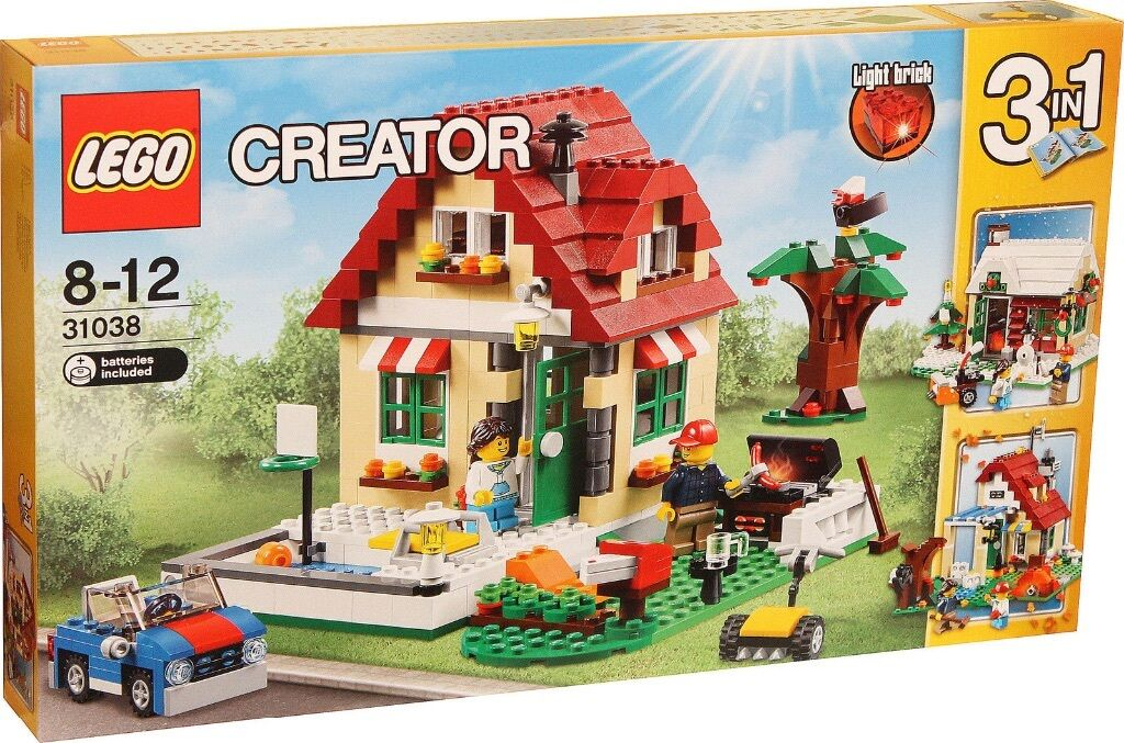 LEGO Creator (31038)  3-in-1  Changing Seasons (Brand New & Factory Sealed)
