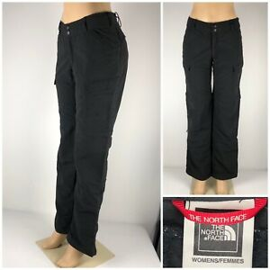 The North Face Womens 6 Paramount Peak Convertible Pants Black AJHK