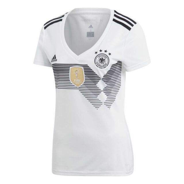 19ceb9a4b adidas Germany FIFA WC World Cup 2018 Womens Home Soccer Jersey White