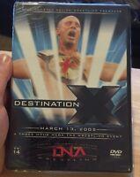 Tna Wrestling - Destination X 2005 (dvd, 2005, 2-disc Set) Wwe Nxt Ddp Aj
