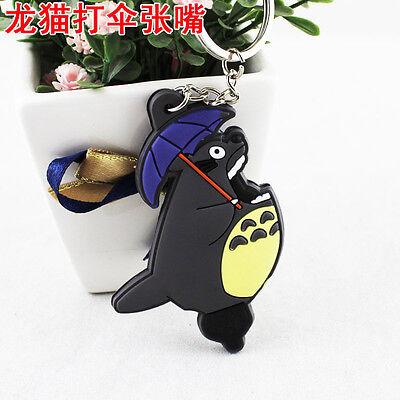 Hot Cute Film My Neighbor Totoro Anime Pendant Keychain Kryrings PVC 5cm