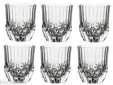 Set di 6 CRISTALLO LUXION RCR Adagio BICCHIERI da Whiskey 35cl - 25745020006