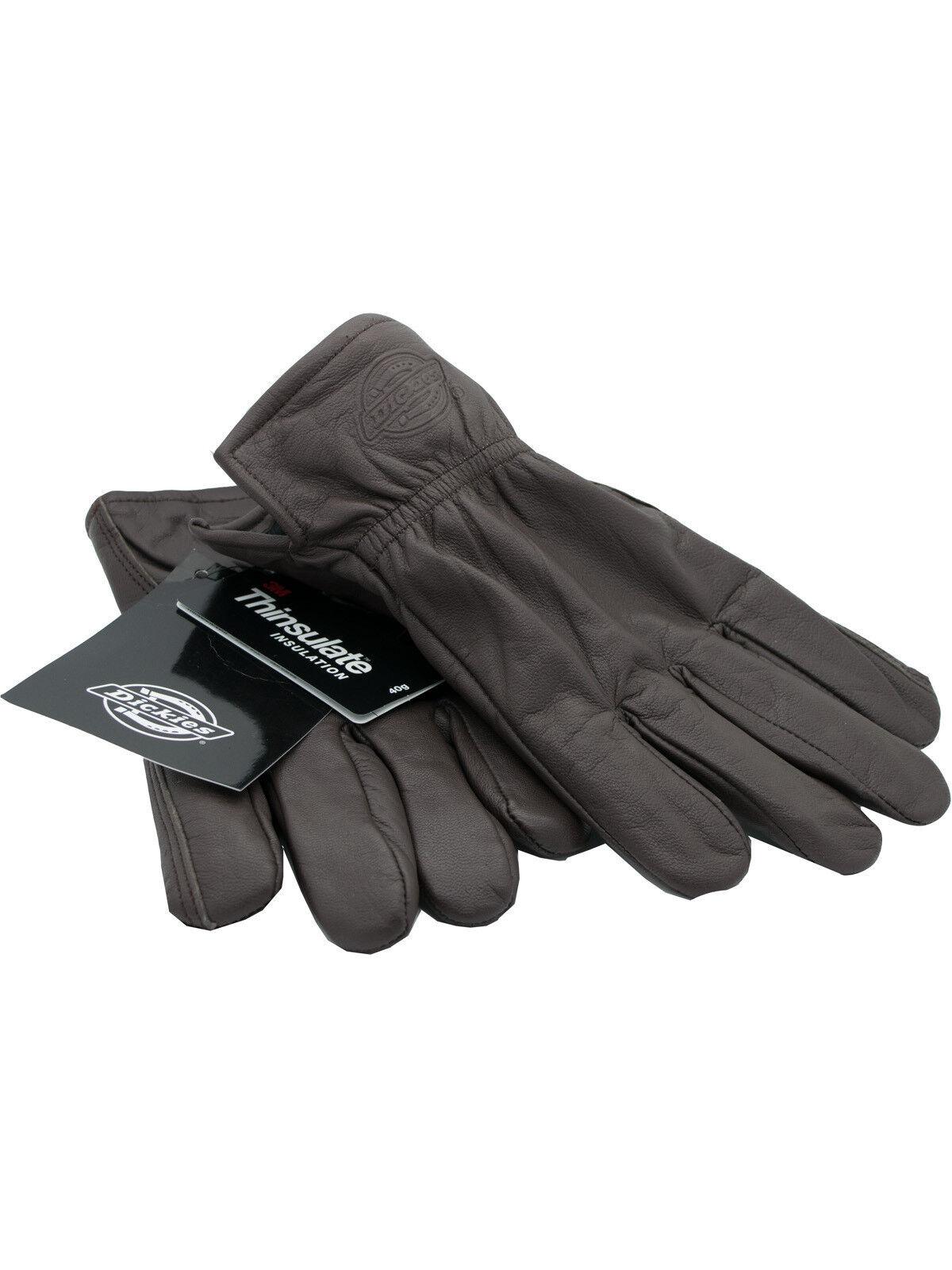 Dickies Gloves/Leather Gloves Dark Brown/Work Gloves Memphis 5032