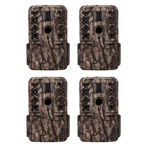 Moultrie-M-50-20MP-Low-Glow-Long-Range-IR-Game-Trail-Camera-White-Bark-4-Pack