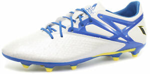 5ed88a45e8d adidas Messi 15.2 FG AG White Mens Football Boots   Soccer Cleats ...