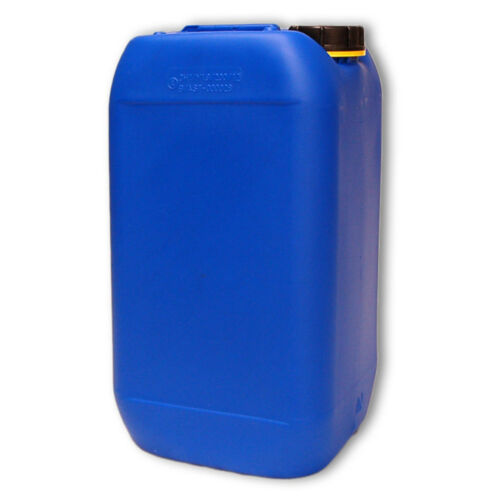 15 Liter Kanister blau Plastekanister Höhe = 44 cm Breite = 20 cm Tiefe = 23 cm