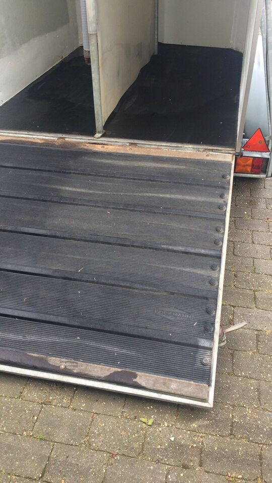 Hestetrailer, Bøckmann årg 1998 2000 kg, lastevne (kg):