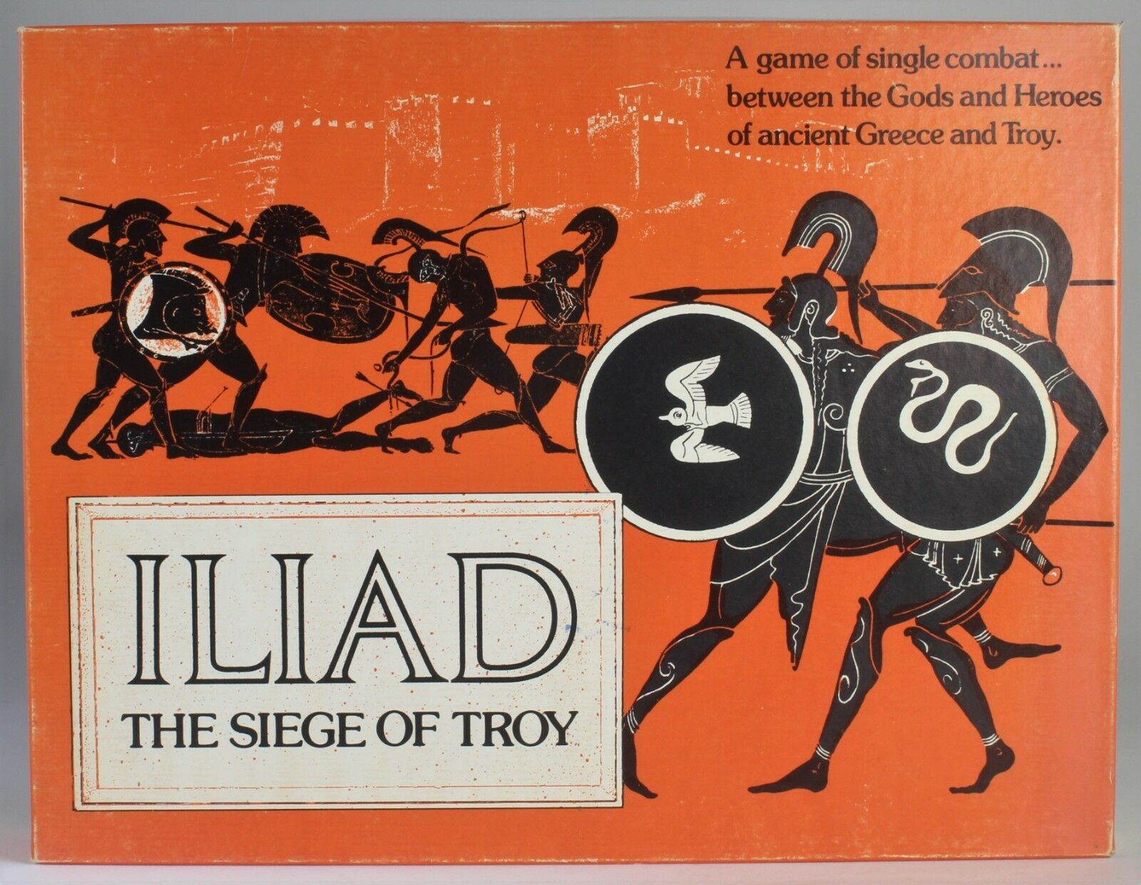 RARE Iliad: The Siege Of Troy  1978, Game Designers' Workshop  Complete/Nice Box