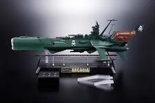 ARCADIA GX-67  BATTLE SHIP - SOUL OF CHOGOKIN -  CAPITAN HARLOCK - BANDAI -