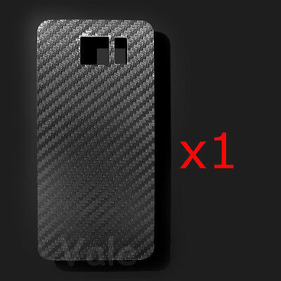 3D Clear Carbon Fiber Back Screen Protector Film For Samsung Galaxy S7 /Edge