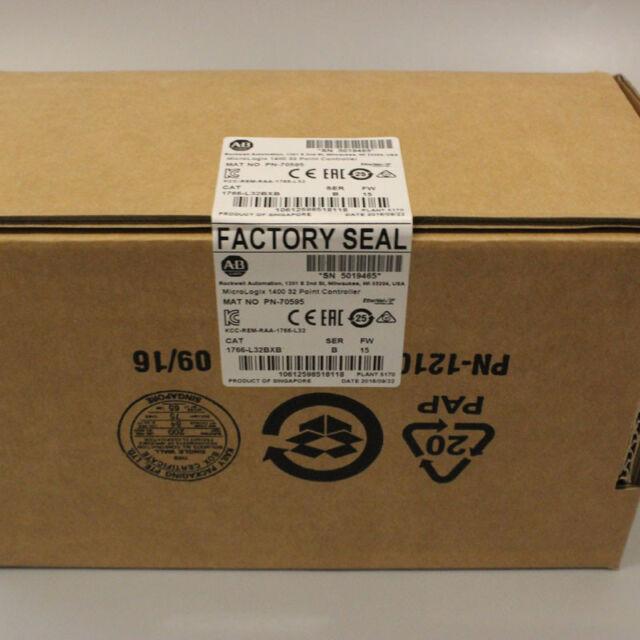 In Stock New & Original PLC Module 1766-L32BXB Micrologix 1400 32 Point