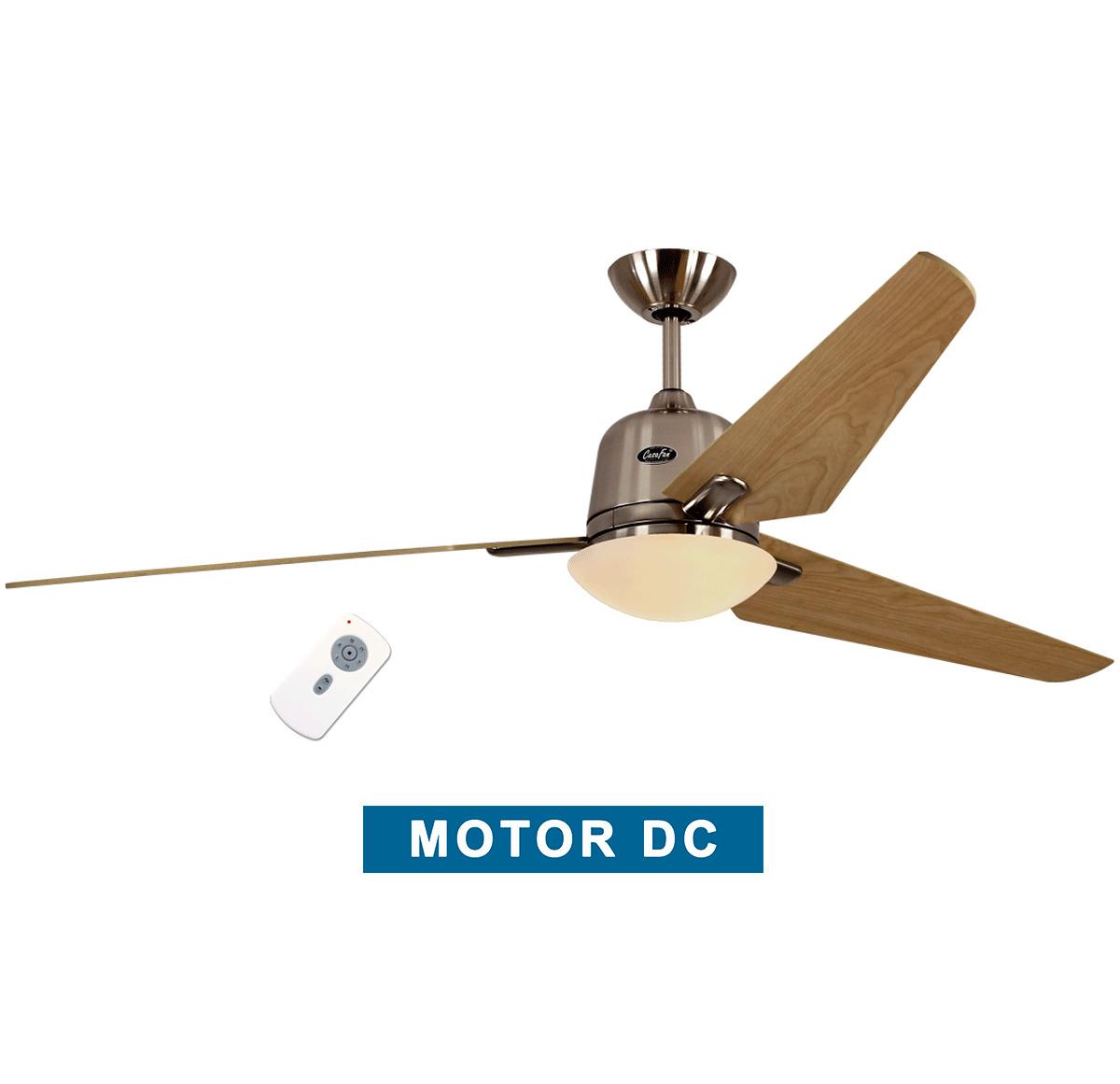 Ceiling fan with light CasaFan 516087 ECO AVIATOS 162 maple / satin...