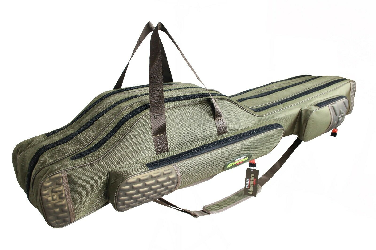 Reinforced Rod Bag Traper  Adventure I Rod Holdall 2 3 Compartments 140 160cm  brand