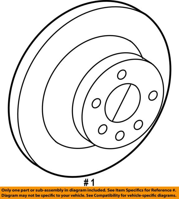 volvo 30769058 genuine oem factory original rotor for sale online