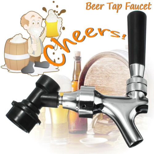 Mobile Faucet Tap for Cornelius Ball Lock Disconnect Attached Beer Wine Kegs !
