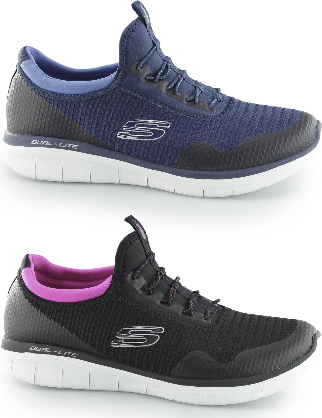 Skechers Synergy 2.0 - MIRROR Image Donna Memory Foam Slip On   da ginnastica