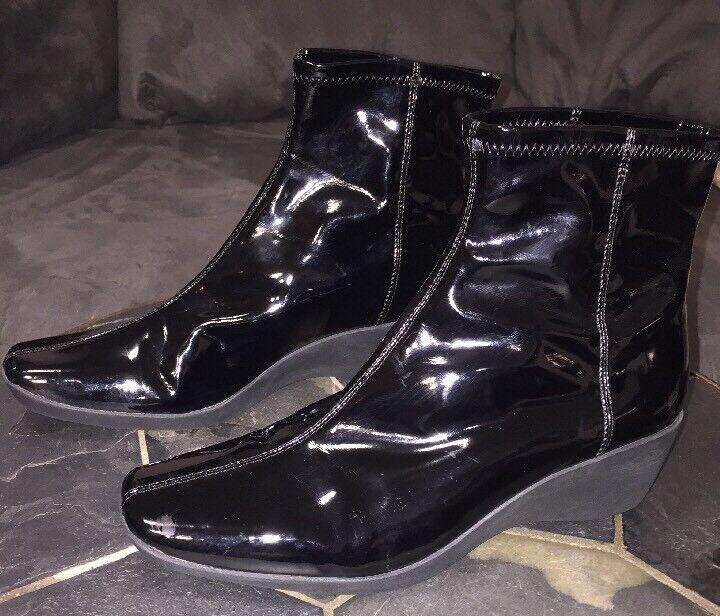 Bandolino  Waterproof Black Ankle Boots Waterproof Size 7.5