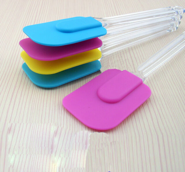 Silicone Baking Cake Cream Butter Spatula Scraper Stir Kitchenaid Utensil Tool