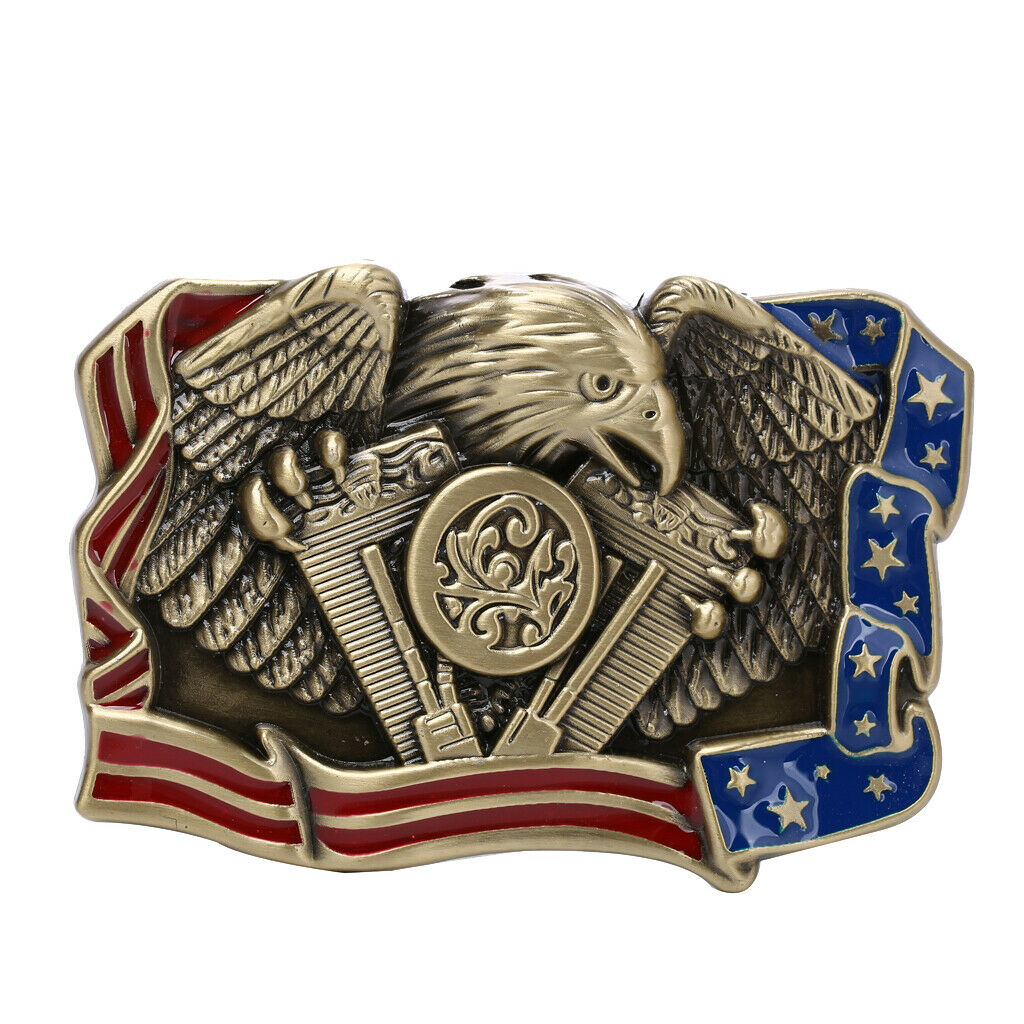 Indian Cowboy Jeans Buckle Western Eagle - Buckle Replacement