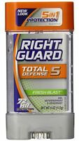 Right Guard Total Defense Anti-perspirant Deodorant 4 Oz 3pk on sale