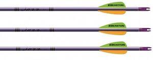 Archery-6-x-Easton-Jazz-Aluminium-Complete-Target-Arrows-Recurve-Compound-Bow