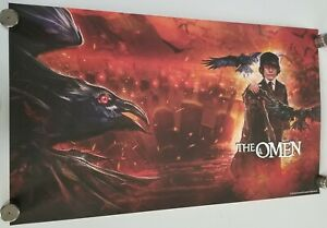 """The Omen - SHOUT SCREAM FACTORY LITHOGRAPH 28.5"""" X 16.5"""" Poster movie"""