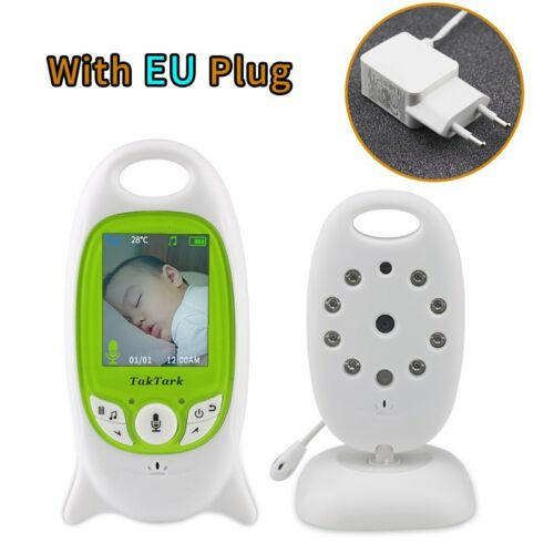 Wireless Video Baby Monitor 2.0 inch Color  Security Camera 2 Way Talk