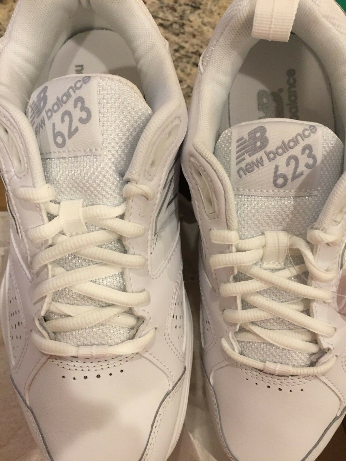 New Balance femmes  WX623WS3 Casual Comfort Training Chaussures - blanc 7.5 WIDE
