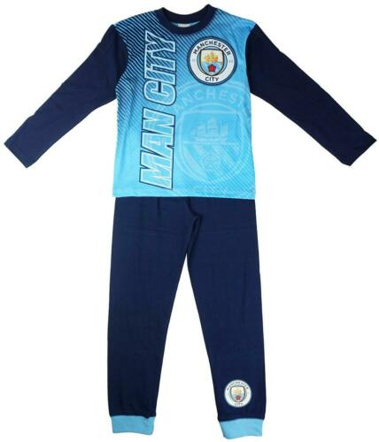 Boys Pyjamas Manchester City M.C.F.C Pjs Football Club Official 4 to 12 Years