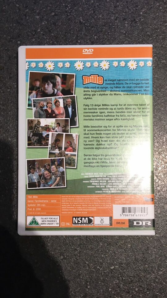 Mille, DVD, familiefilm