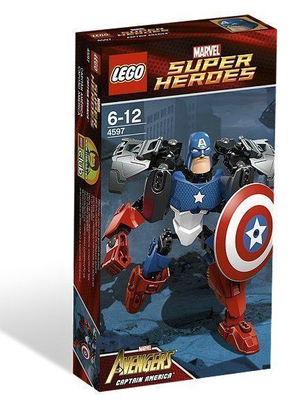LEGO Super Heroes Captain America (4597)