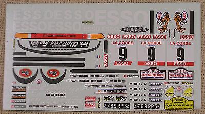 Accessories, Parts & Display Industrious Decal Porsche 911sc Esso Tour De Corse 1980 Therier Racing43 1/43 True 2019 Latest Style Online Sale 50%