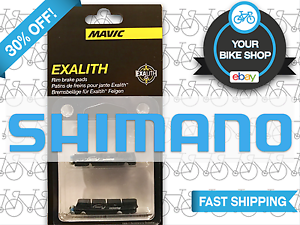Shimano//SRAM FREE SHIP Mavic Brake Pads Exalith 2 Ksyrium SLR R-SYS SSC Pair